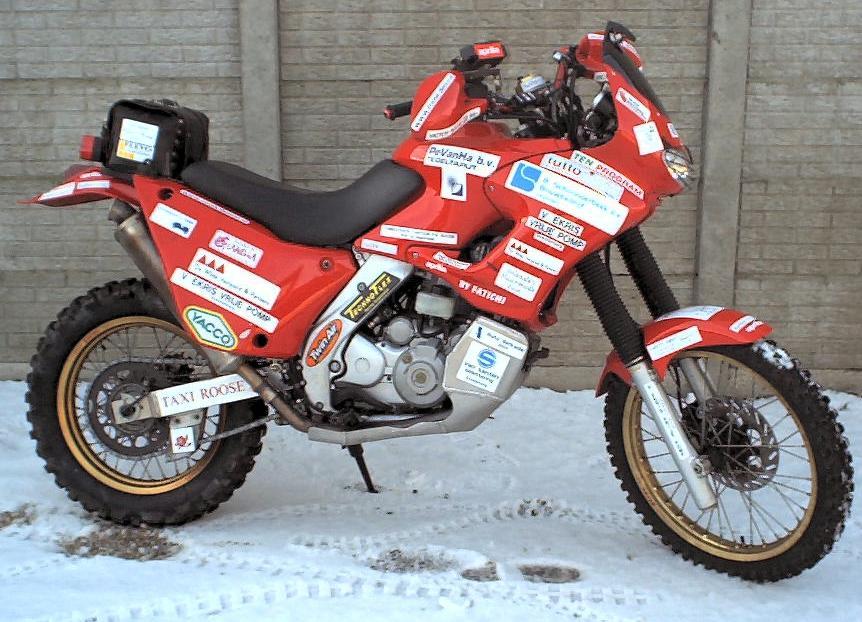 Motor on 2002 Honda Xr 600